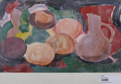 Obst und Vasen