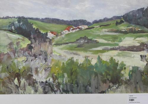 Kleines Dorf im Grünen