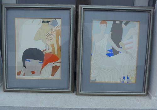 Art Deco Paar