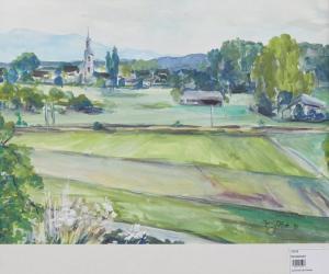 Felder vor der Stadt