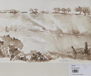 Felder in Schwarz Weiß