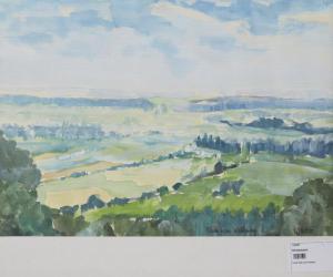 Blick vom Kahlenberg Ringsheim