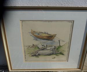 Boot am Ufer